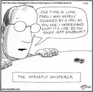 The horsefly whisperer...