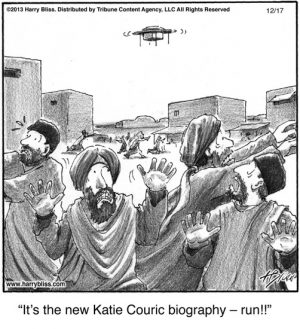 It's the new Katie Couric biography...