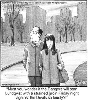 Must you wonder if the Rangers...