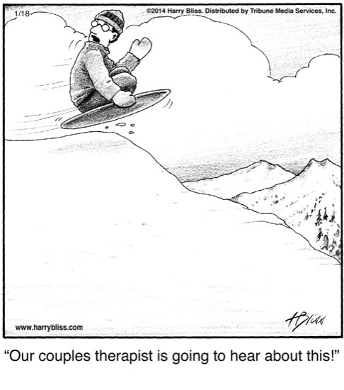 Our couples therapist...