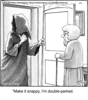 Make it snappy...
