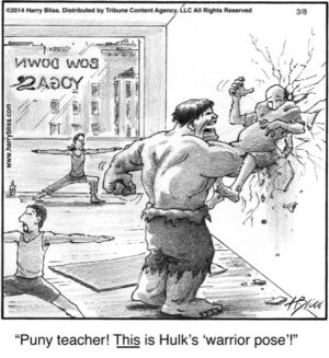Puny teacher!...