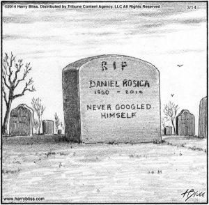 Never Googled...