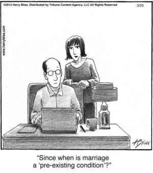 Since when is marriage...