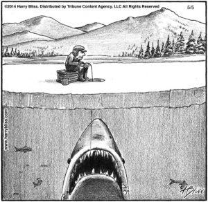 Jaws on ice...