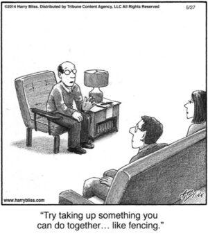 Try taking up something...