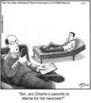 Siri, are Charlie's parents...