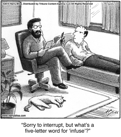 Sorry to interrupt...