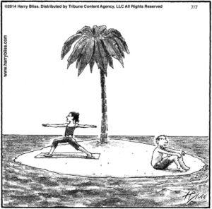Desert Island Yoga...