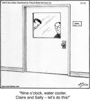 Nine o'clock...