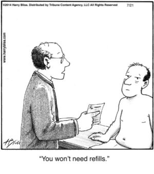 You won't need refills...