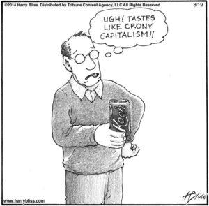 Tastes like crony capitalism...