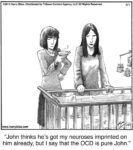 John thinks he's got...