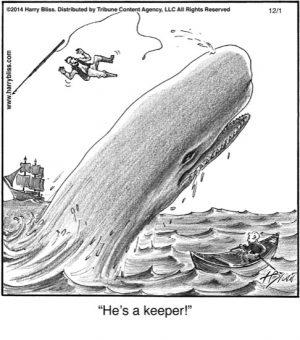 He's a keeper!...