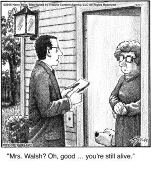 Mrs Walsh?...