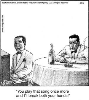 You play that song...