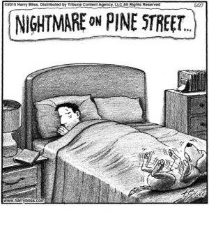 Nightmare on Pine Street...
