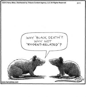 Why 'Black death'?...