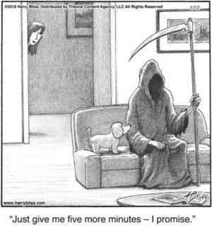 Just give me five...