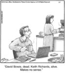 David Bowie. dead...