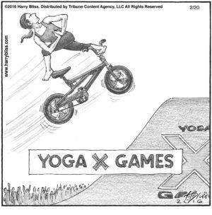 Yoga X games...