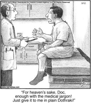 For heaven's sake...