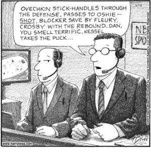 OVECHKIN STICK-HANDLES THROUGH...