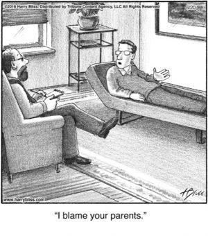I blame...