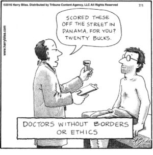 Doctors without borders...
