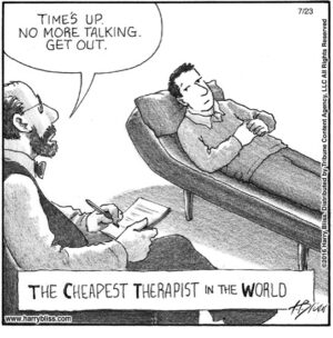 The Cheapest therapist...