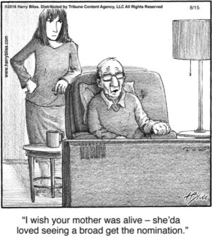 I wish your mother was alive...