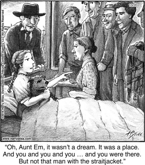 Oh. Aunt Em...