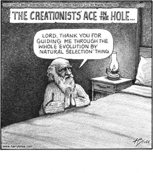The creationists...
