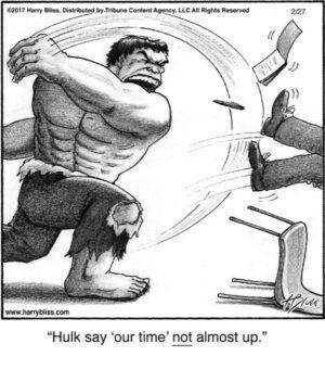 Hulk say...