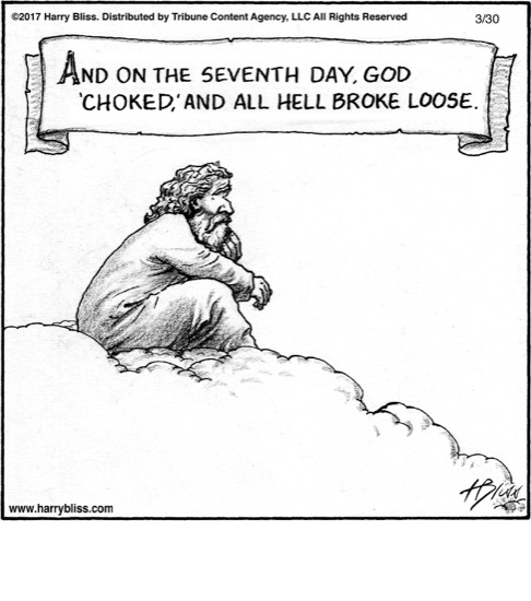 And on the seventh day...