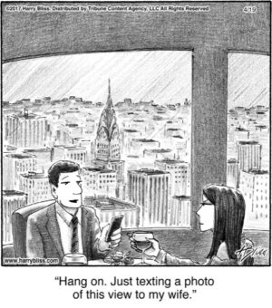 Hang on. Just texting...