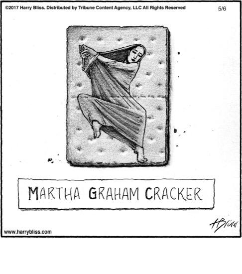 Martha Graham Cracker...
