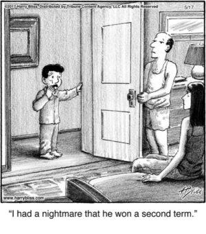 I had a nightmare...