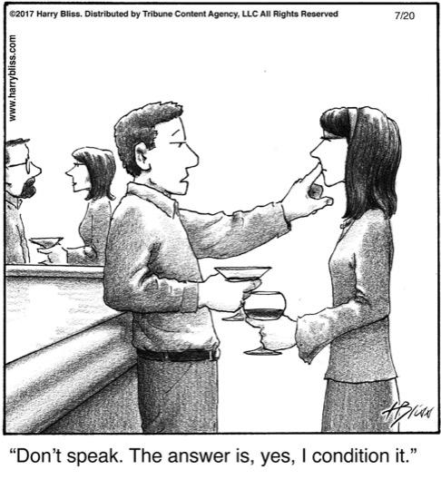 Don't speak...