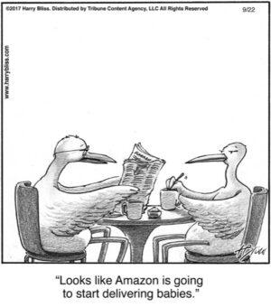 Looks like Amazon...
