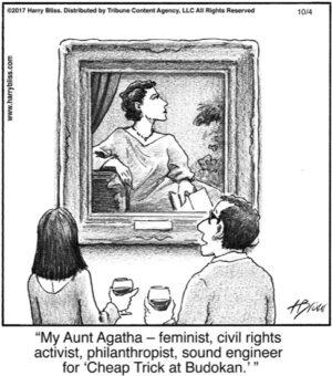 My Aunt Agatha...