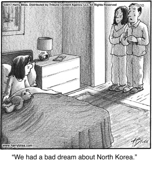 We had a bad dream...