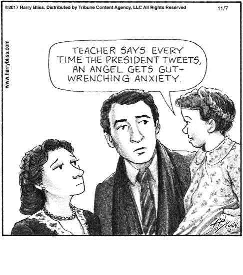 the President's tweets...