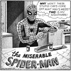 The miserable SPIDER-MAN...