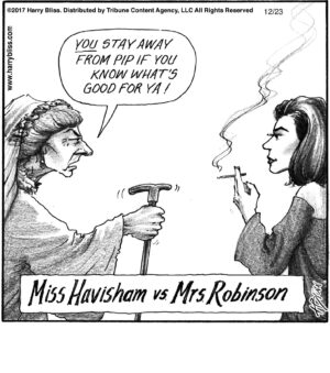Miss Havisham vs...