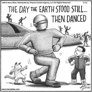 The day the earth...