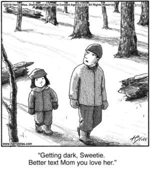 Getting dark