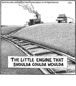 Little engine that shoulda...
