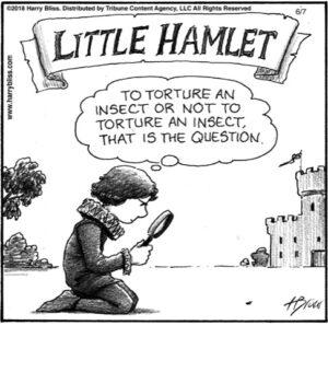 Little Hamlet...