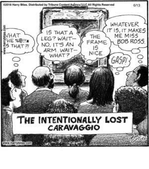 The intentionally lost...
